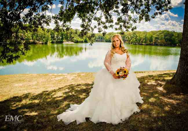 Bridal portrait session with Kylie