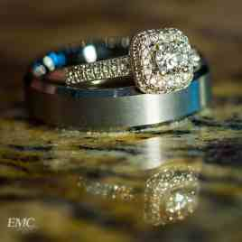 Kylie and Cody's rings.