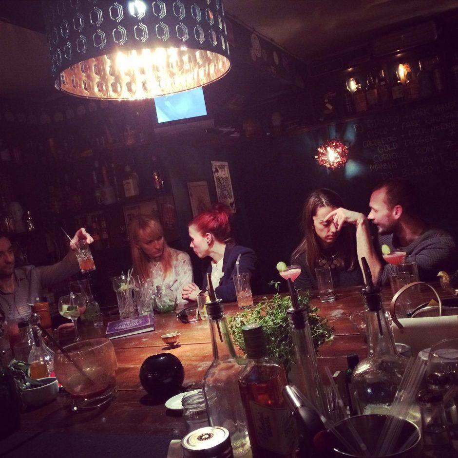 Dissident cocktails & Curiosity ambienss I Foto: Kadri Kroon