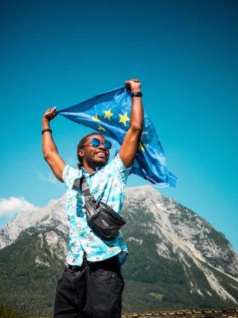Euroopa Liidu lipuga