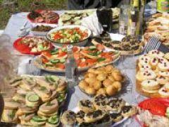 Закуски на пикнике