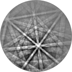 8_EBSD Pattern Ferrite 600C