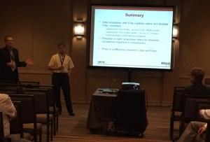 Presentation by Dr. Bruce Scruggs.