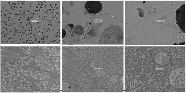Figure 3: Lead-Tin solder and stainless steel samples
