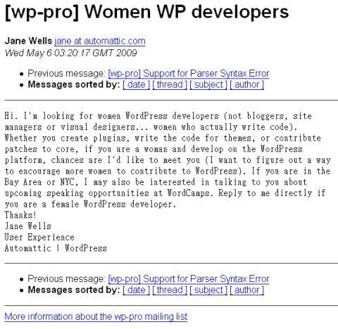 wanted_women_wordpress_developer
