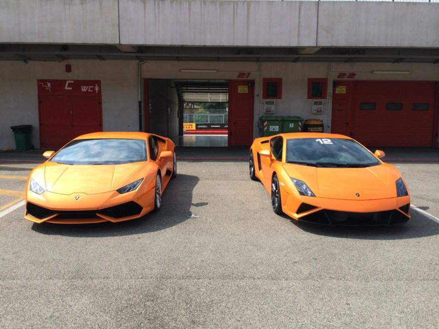 2014 Lamborghini Huracan and 2014 Lamborghini Gallardo ...