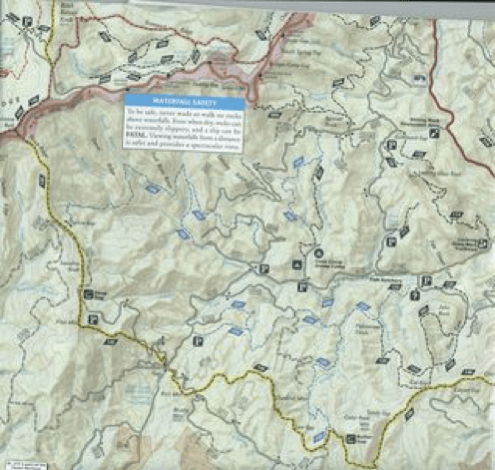 map of pisgah national part map and the goodness that is more than the sum of its part