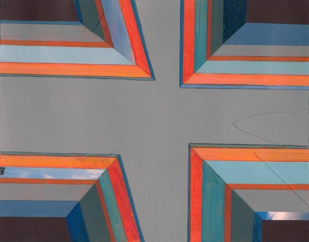 Mary Lum Geometric Collage Art Artist Mary Lum Shares