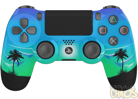 Moonlight Oasis Playstation 4 Custom Controllers