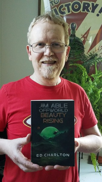 Ed Charlton - Beauty Rising paperback - Jim Able: Offworld