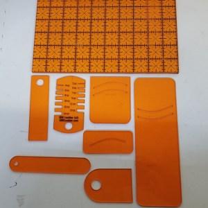 EDC Acrylic Templates