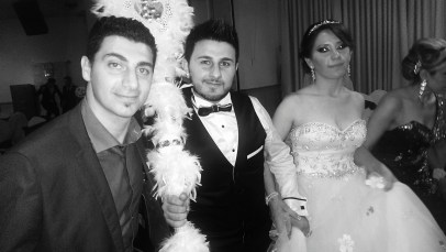 DJ Eddie with Evan & Ranya