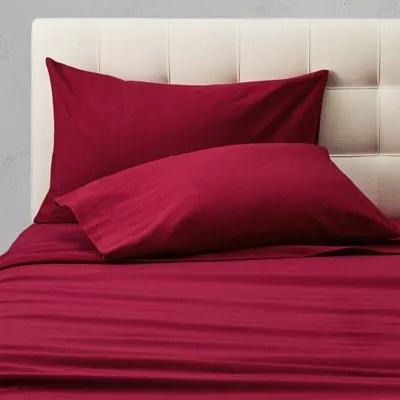 flannel pillowcase set solid eddie