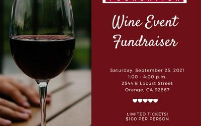 Wine Tasting Fundraiser | September 25, 2021