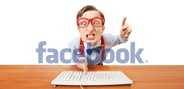 Angry Facebook User