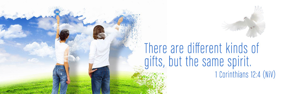 There are different kinds of gifts, but the same spirit. 1 Corinthians 12:4 (NiV)
