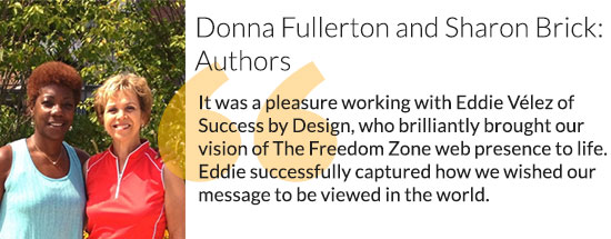 Donna Fullerton and Sharon Brick