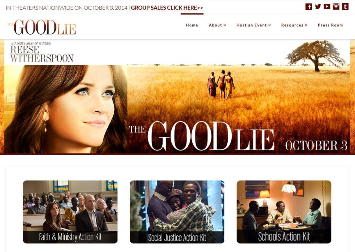 The Good Lie from Warner Brothers