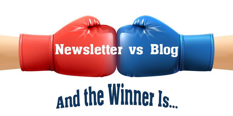 Newsletter vs Blog