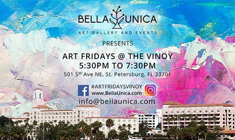 Art Fridays at the Vinoy