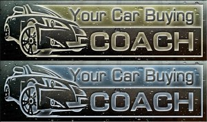 Your car buying coach glass logo