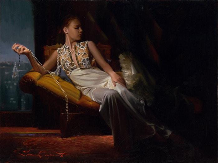 """Tina Garrett's """"String of Pearls"""""""