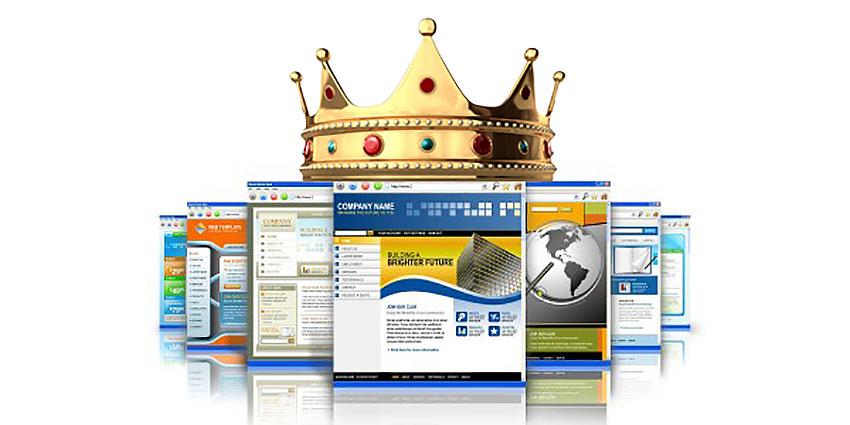 the website is still king