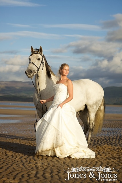 The Bride And Her Horse Eddy K Bridal Gowns Designer