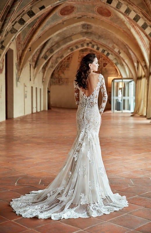 Wedding Dress CT180 Eddy K Bridal Gowns Designer