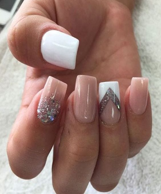 65 Easy Geous Wedding Nails Ideas For 2017