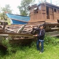 Empat Perahu Itu Sudah Hancur