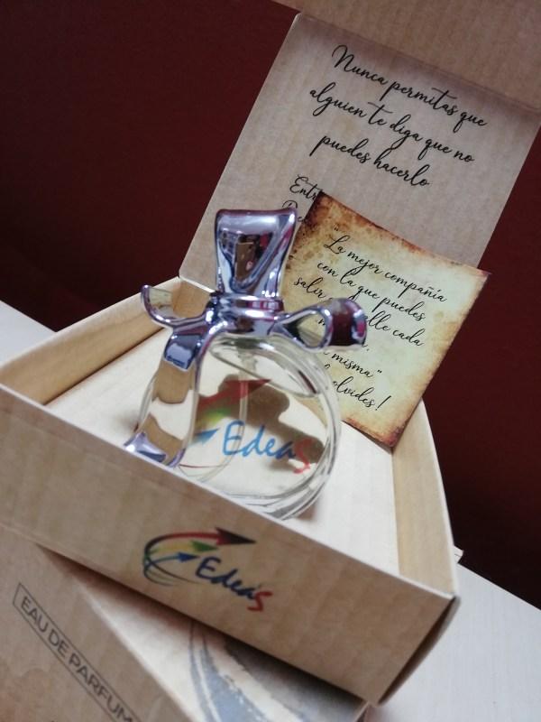 Perfume Femenino EdeaS. Regalo Original. Mujer. Enamorados. Regalo. Detalle. Fuerza. Coraje. Autoestima