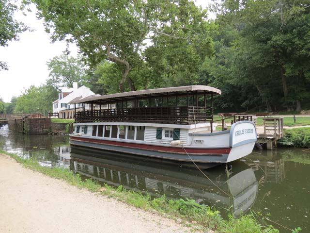 43 Packet Boat on the C and O Canal | Edek's Attic