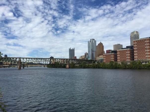 Pittsburgh across the Monongahela River