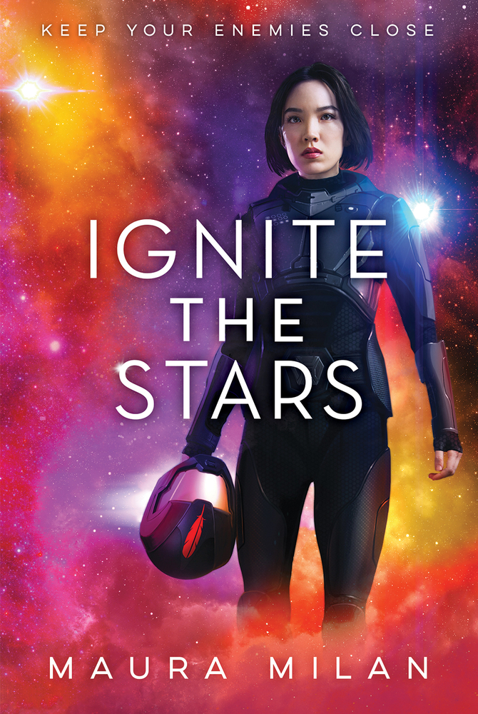 "Book cover of ""Ignite the Stars"" by Maura Milan"