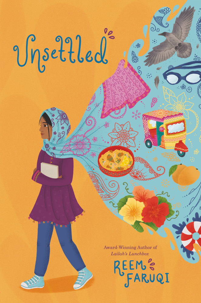 Book cover: Unsettled by Reem Faruqi