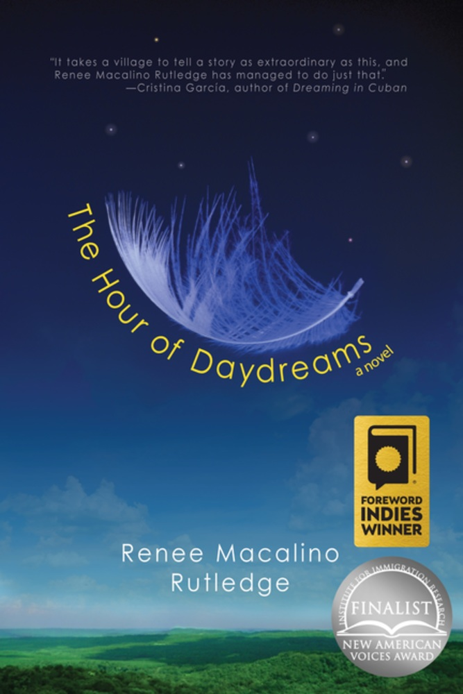 "Book cover of ""The Hour of Daydreams"" by Renee Macalino Rutledge"