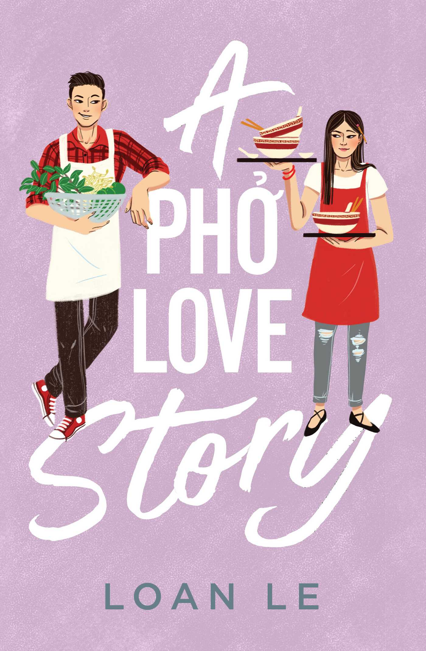 2021 book releases: A Pho Love Story by Loan Le