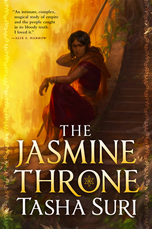 2021 book releases: The Jasmine Throne by Tasha Suri