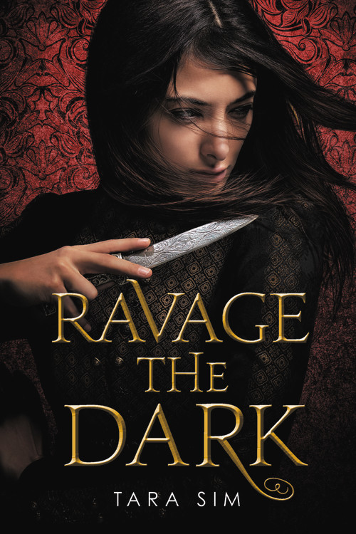Book cover: Ravage the Dark by Tara Sim