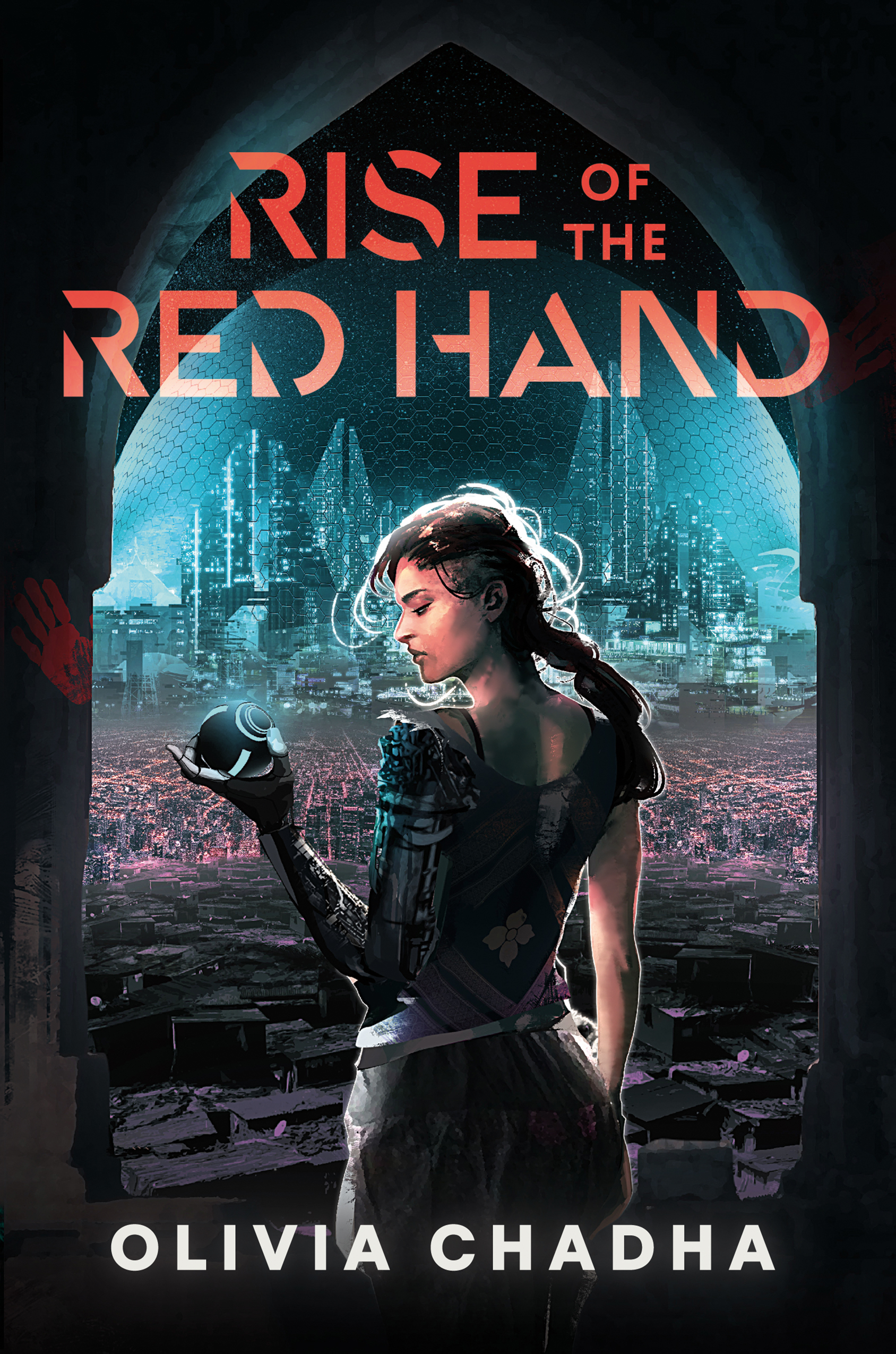 2021 book releases: Rise of the Red Hand by Olivia Chadha
