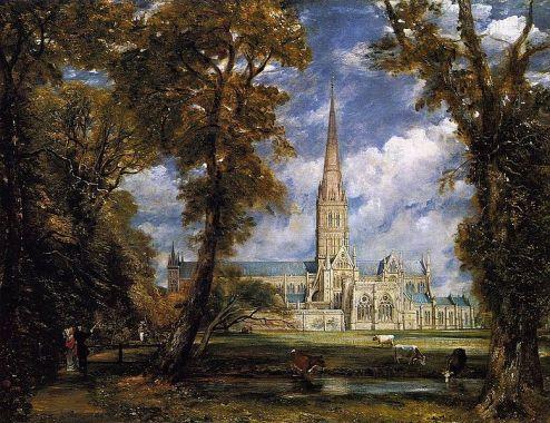 Jhon Constable, catedral de Salisbury, (1820).