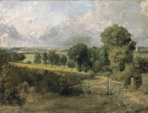 Fen Lane, este de Bergholt, (1817).