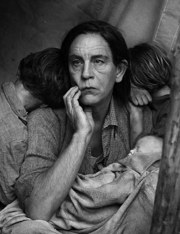 Dorothea Lange / Migrant Mother, Nipomo, California (1936), 2014