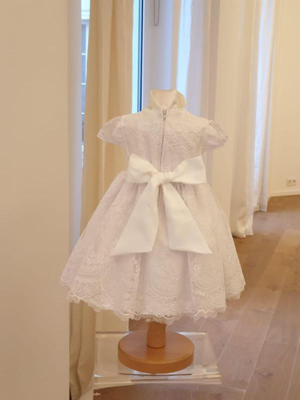 Robe Sissi blanche 145 euro dos