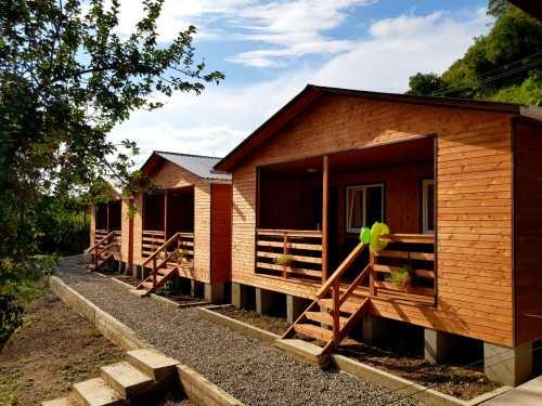 Каркасный деревяный дом