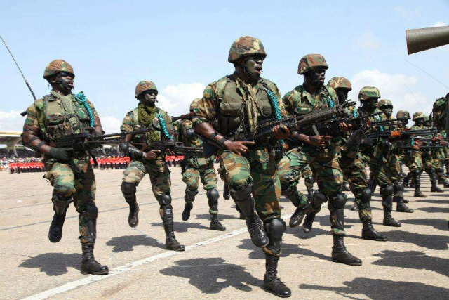 How to become a Soldier in Ghana
