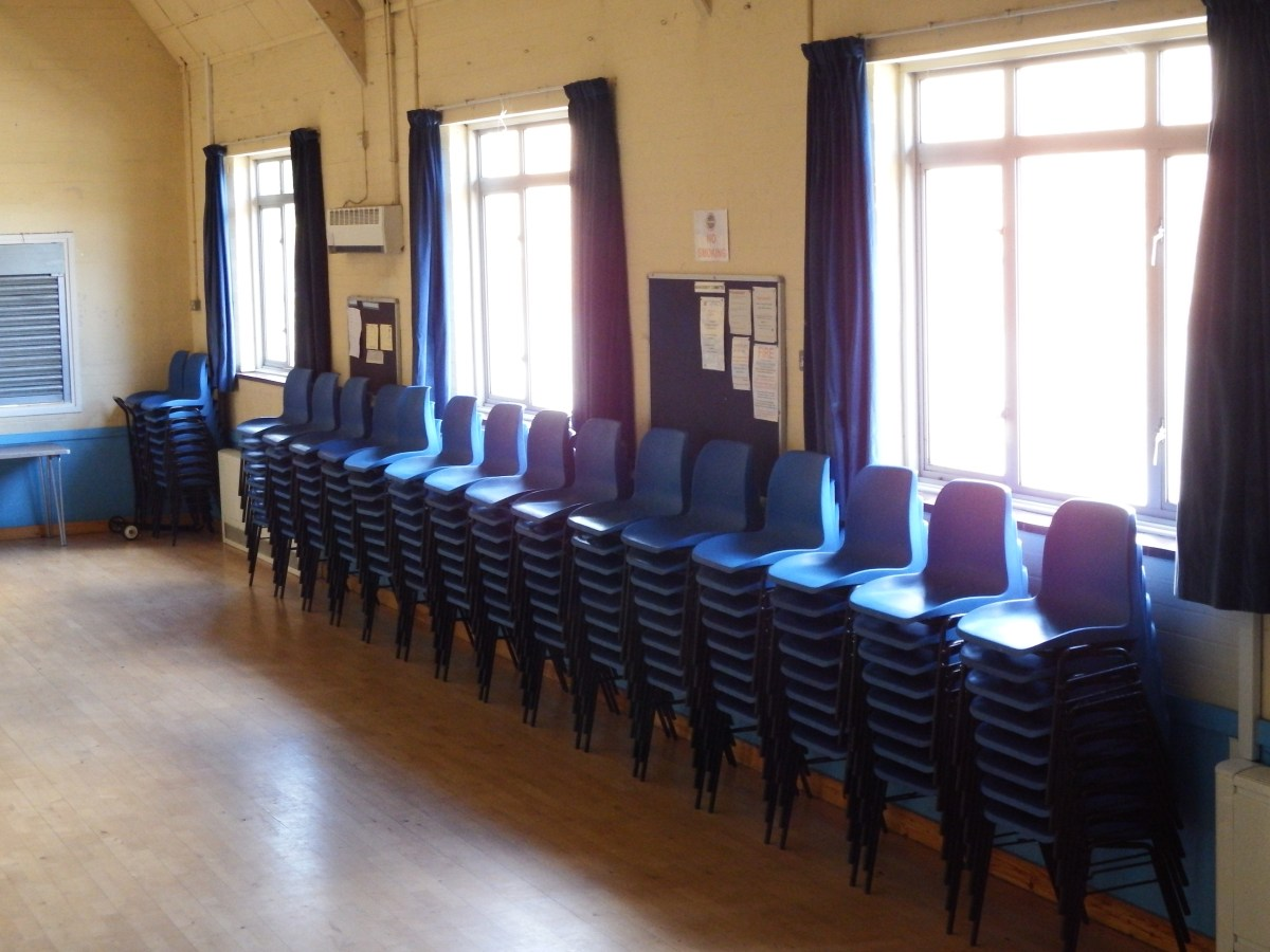 Chairs for seating at edenbridge Village hall