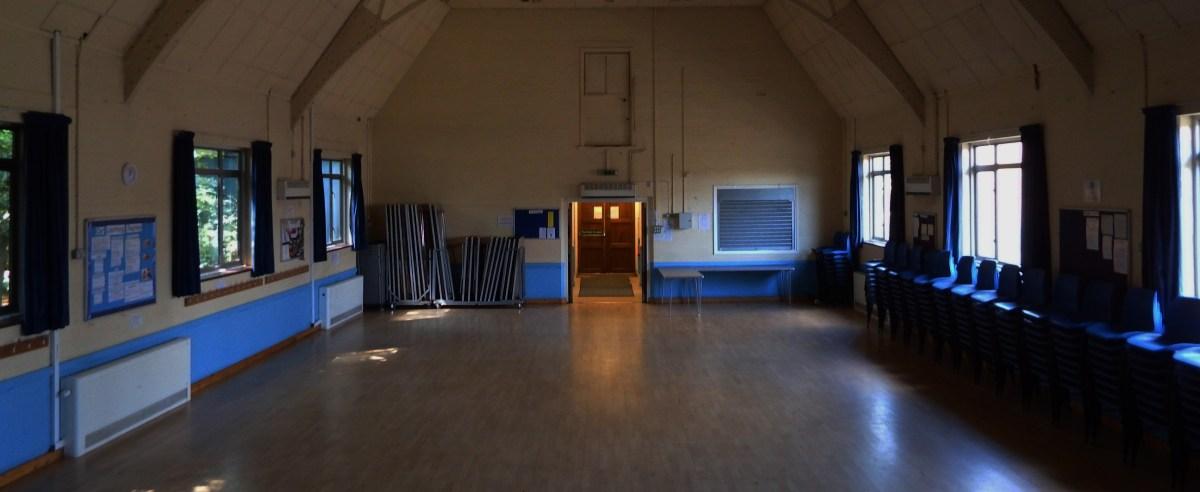 Main hall at Edenbridge Village Hall