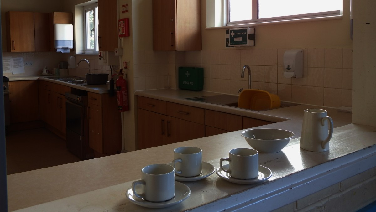 kitchen at Edenbridge Village Hall